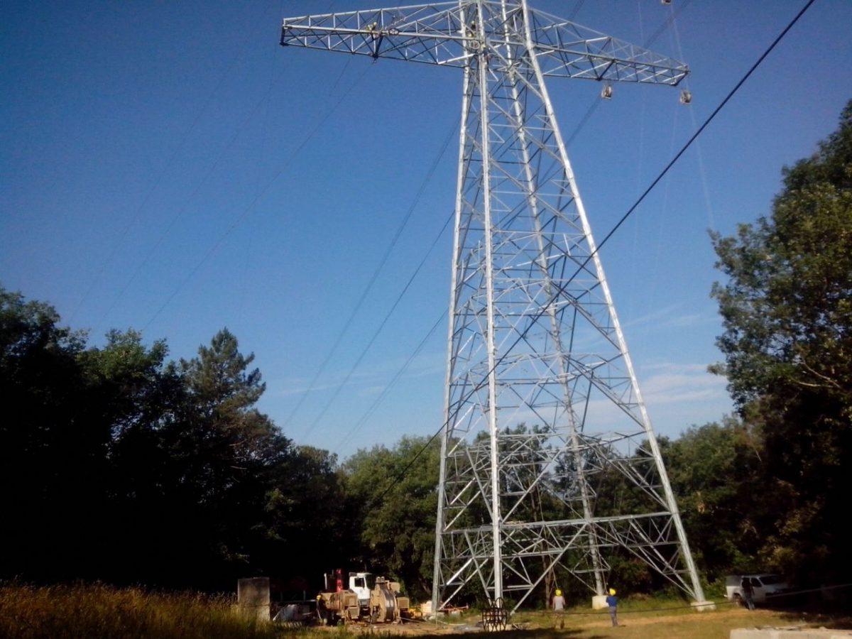 Torreta de electricidad