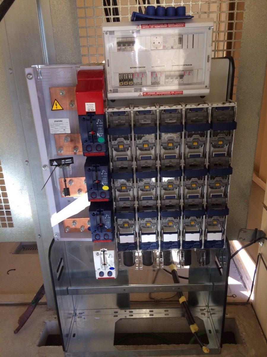 Instalaciones eléctricas de baja y media tensión